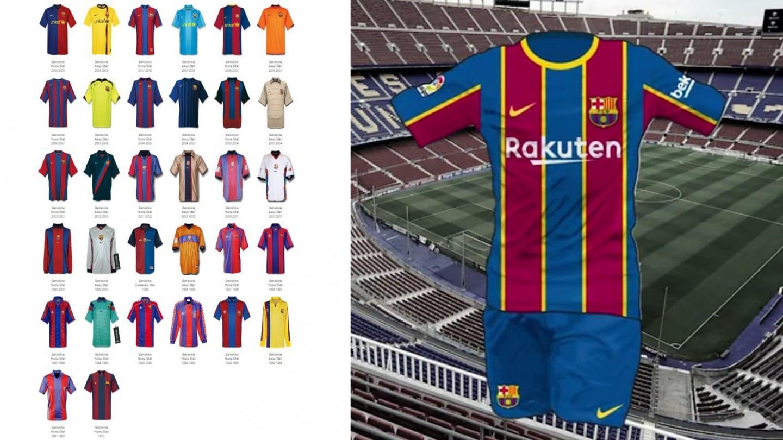 leaked barcelona s 2020 21 season home kit leaked barcelona s 2020 21 season home kit