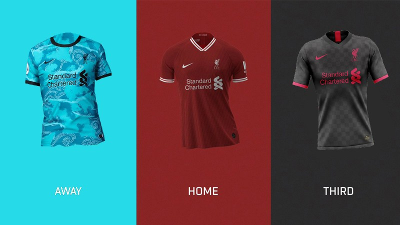 Leaked Liverpools 2020 21 Season Home Away And 3rd Kits
