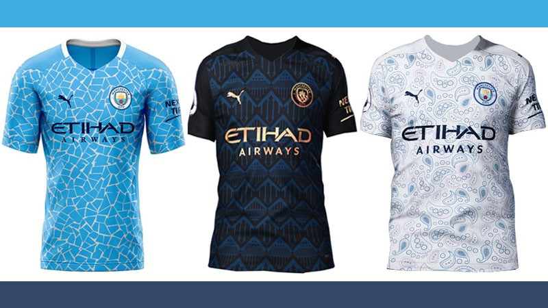 Sportmob Revealed Manchester City S 2020 21 Season Home Away 3rd Kits