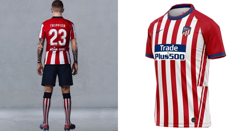 Leaked Atletico Madrids 2020 21 Season Home Away And 3rd Kits