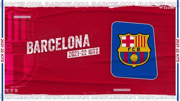 Sportmob Barcelona S 2021 22 Season Home Away And 3rd Kits